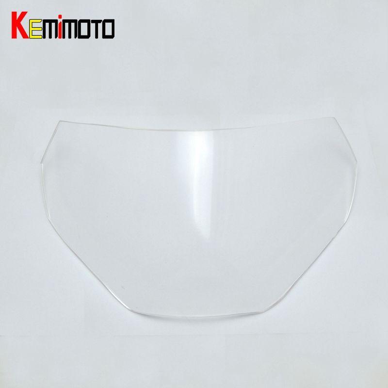 For Yamaha MT-09 MT09 Headlight Lens Protector for Yamaha MT-09 FZ-09 FZ 09 2013 2014 2015 2016 Clear 100% Brand New