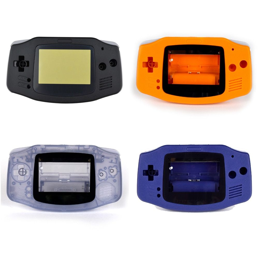 Fashion hot replacement Plastic Shell case Cover for Nintendo for Gameboy Advance housing case for GBA Console