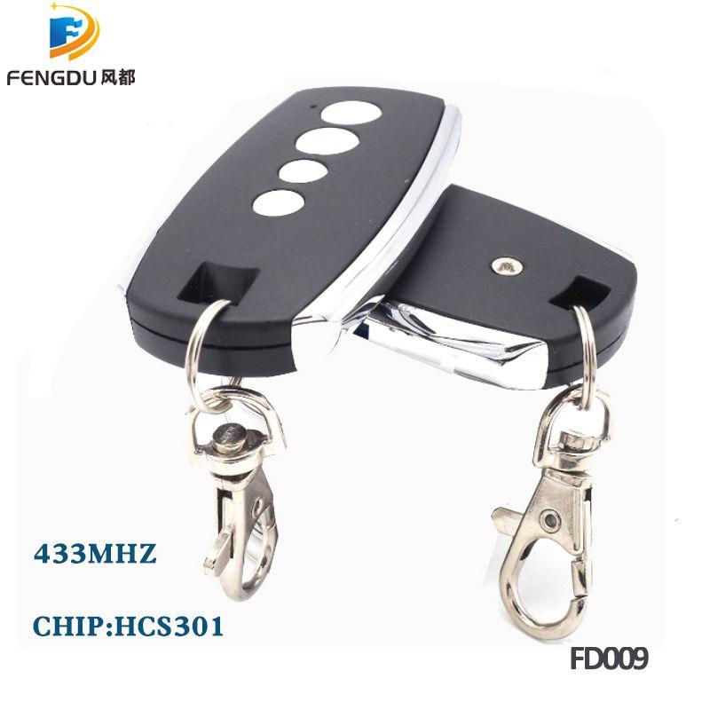 2pcs/lots Rolling code HCS301 DC12V 433.92mhz Remote Control Electric Door Lock