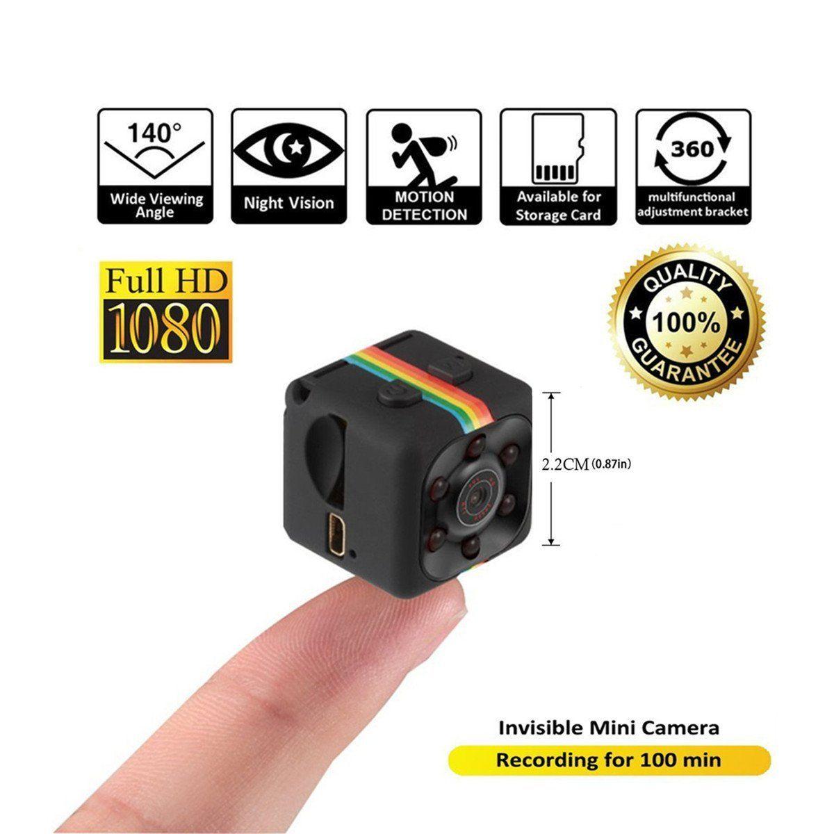 SQ11 Mini caméra 1080 P Sport DV Mini moniteur de Vision nocturne infrarouge dissimulé petite caméra SQ 11 petite caméra DV enregistreur vidéo