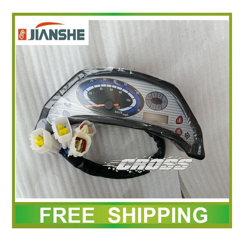 Jianshe ATV UTV BUGGY 400CC zubehör lcd-computer-geschwindigkeitsmesser-grüne speedo meter kostenloser versand