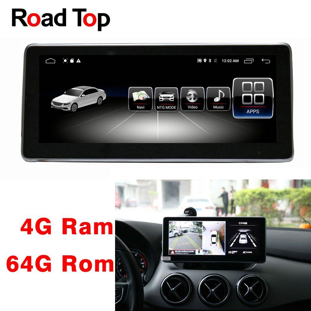 10,25 Android 8.1 Octa 8-Core CPU 4 + 64G Auto Radio GPS Navigation Bluetooth WiFi Kopf Einheit bildschirm für Mercedes Benz B Klasse W246