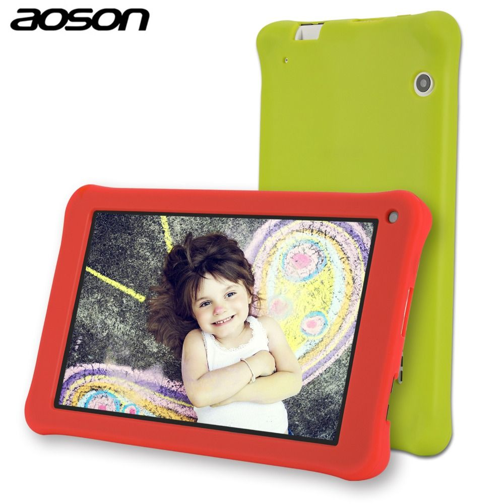 AOSON M753 kids Tablet PC 7 Inch Android 7.1 Marshmallow 16GB Quad core 1024*600 Birthday Gift Games Baby PAD