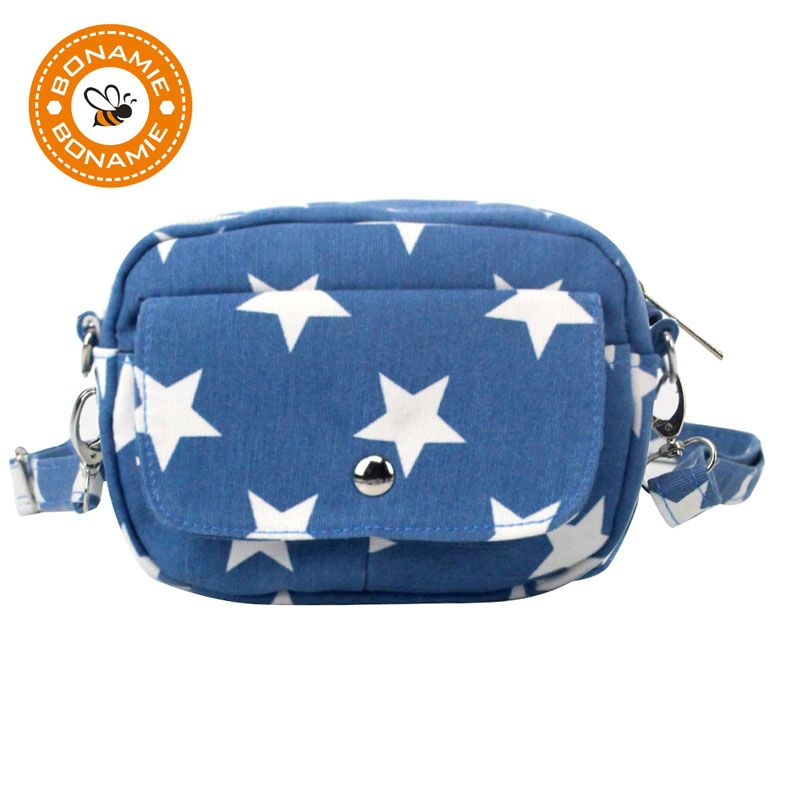 BONAMIE femmes toile sac à bandoulière dame Messenger sac femme sac à main mode étoile épaule sac à main diagonale Portable sac en gros