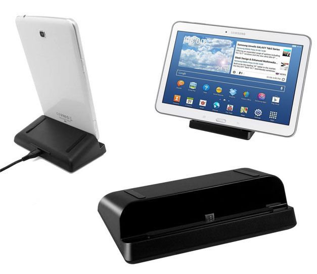 Micro USB Charging Dock Charger Cradle Station Stand For Samsung Galaxy Tab 4 Tab 3 7.0 8.0 10.1 Note 8.0 Tab S Tablet