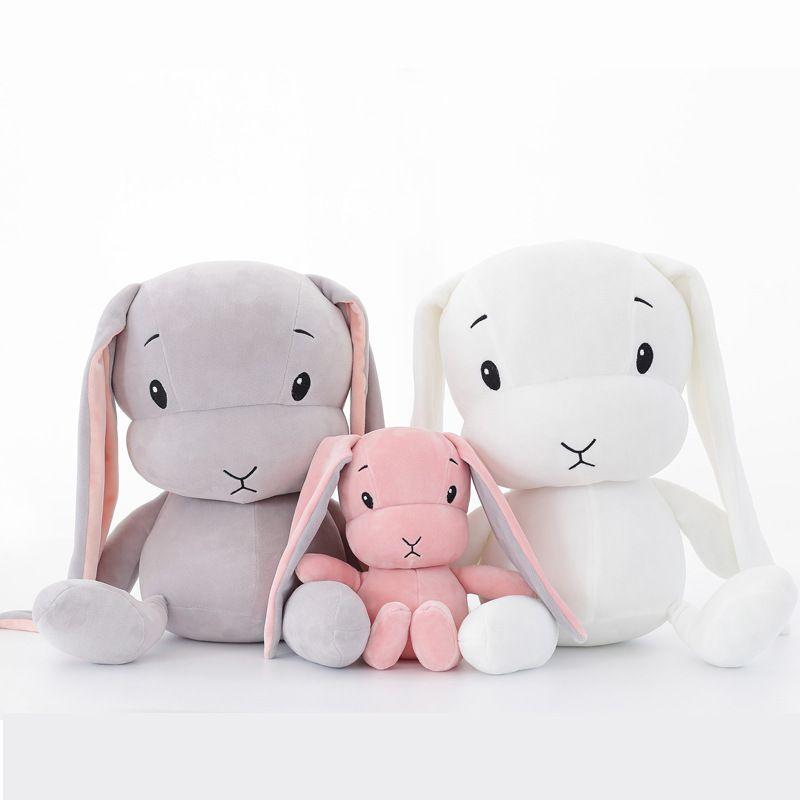 50 CM 30 CM jouets en peluche lapin mignon Lapin En Peluche et En Peluche Animaux jouets pour bébés poupée bébé accompagner sommeil jouet cadeaux pour enfants WJ491