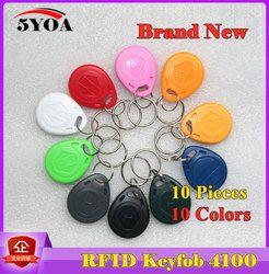 Шт. 10 шт. RFID тег брелок кольцо маркер 125 кГц Близость ID карты чип EM 4100/4102 для контроля доступа посещаемости