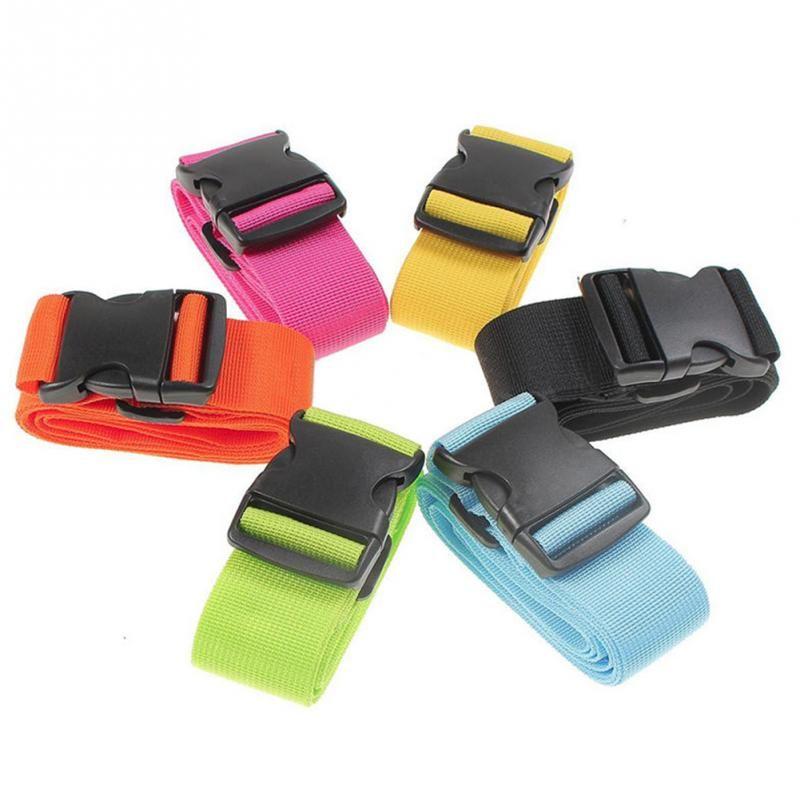 Durable Nylon Travel Luggage Straps Adjustable Strap Travel Luggage Belt Suitcase Strap