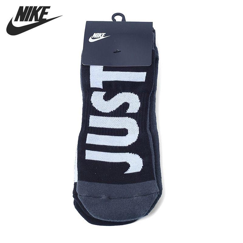 Original New Arrival 2017 NIKE 2PPK NO SHOW Men's  Sports Socks  2 Pairs