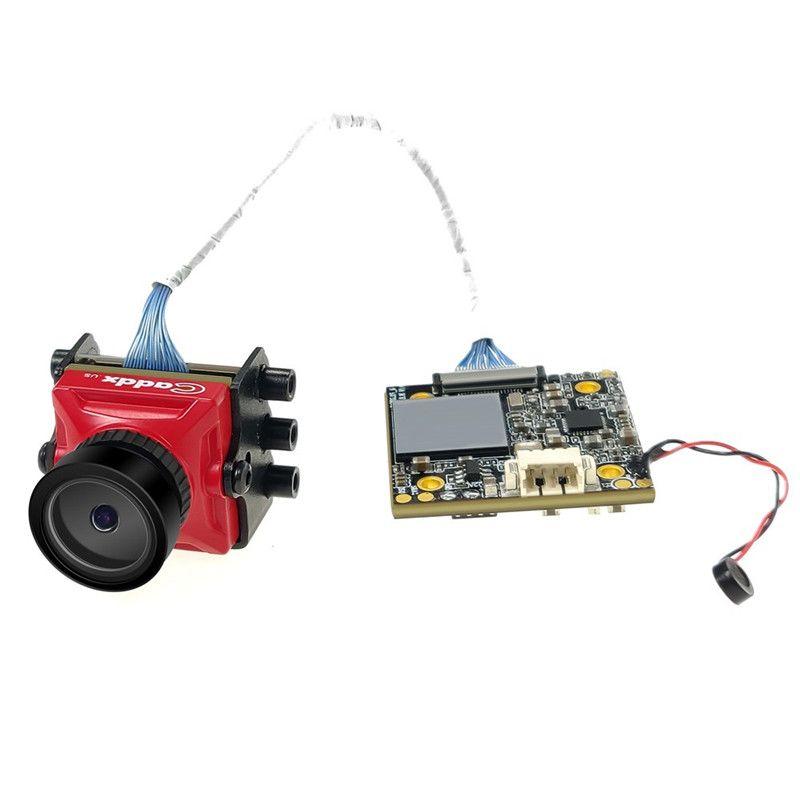 Caddx Schildkröte V2 1080 p 60fps FOV 155 Grad Super WDR Mini HD FPV Kamera OSD Mic für RC Drone zubehör