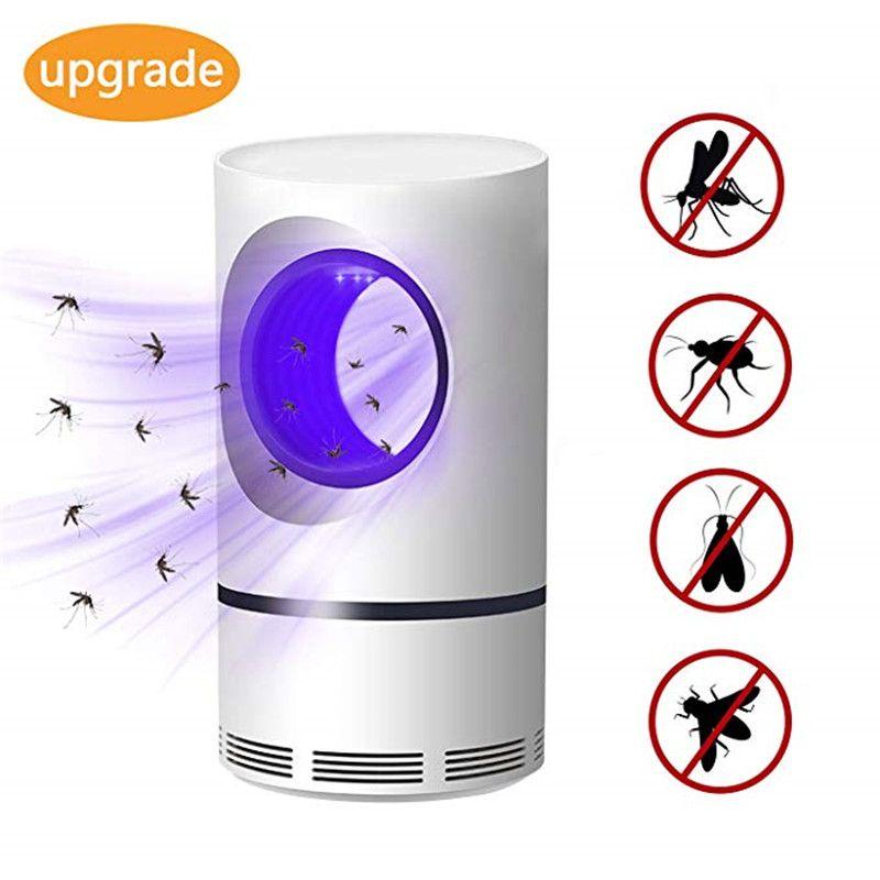 5W Usb alimenté électrique photocatalytique Led Anti moustique tueur lampe basse tension UV Photocatalys insecte piège lumière chasse lumières