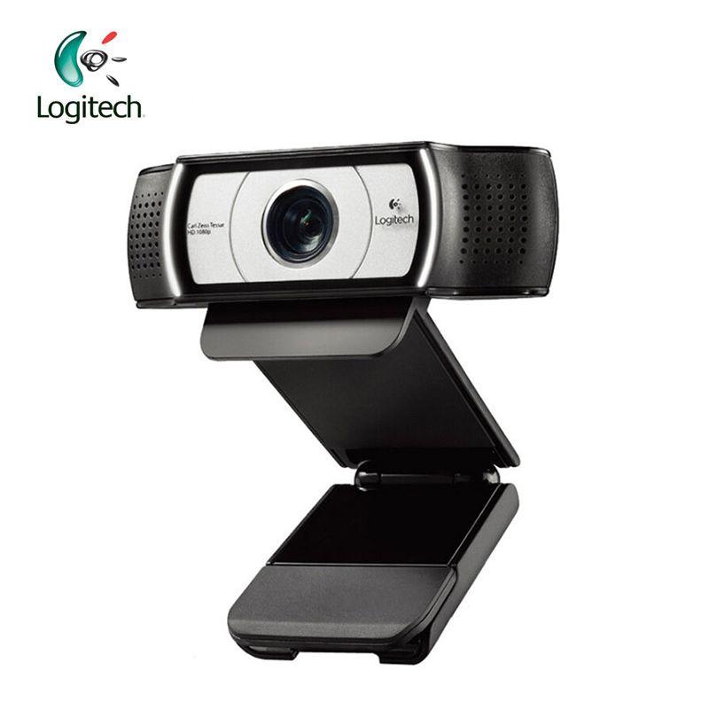 Logitech C930E 1920*1080 HD Garle Zeiss Certification Webcam avec 4 Temps Numérique Zoom Soutien Vérification Officielle pour PC