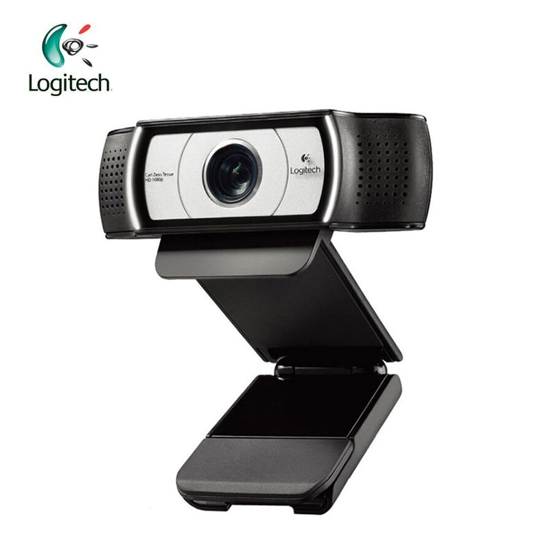Logitech C930E 1920*1080 HD Garle <font><b>Zeiss</b></font> Lens Certification Webcam with 4Time Digital Zoom Support Official Verification for PC