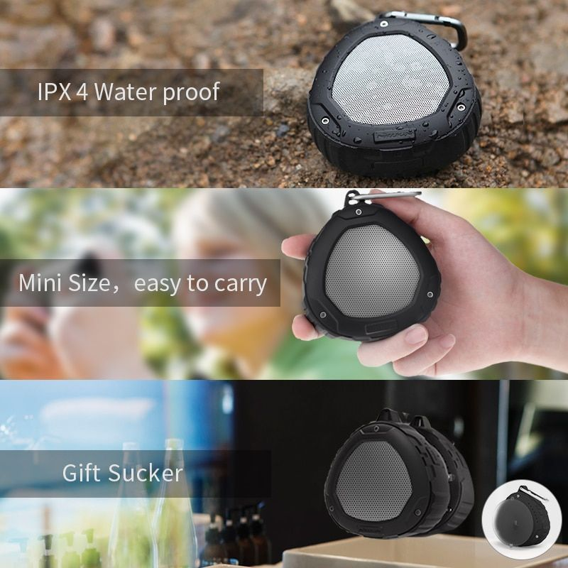 Nillkin Mini Outdoor Portable Bluetooth Speaker 4.0 IPX4 Waterproof stereo sound box wireless speaker bluetooth sport for xiaomi