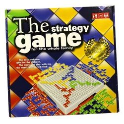 Blokus Kotak Papan Permainan Strategi Permainan Inggris Versi 4 Pemain/2 Pemain Set Permainan Keluarga