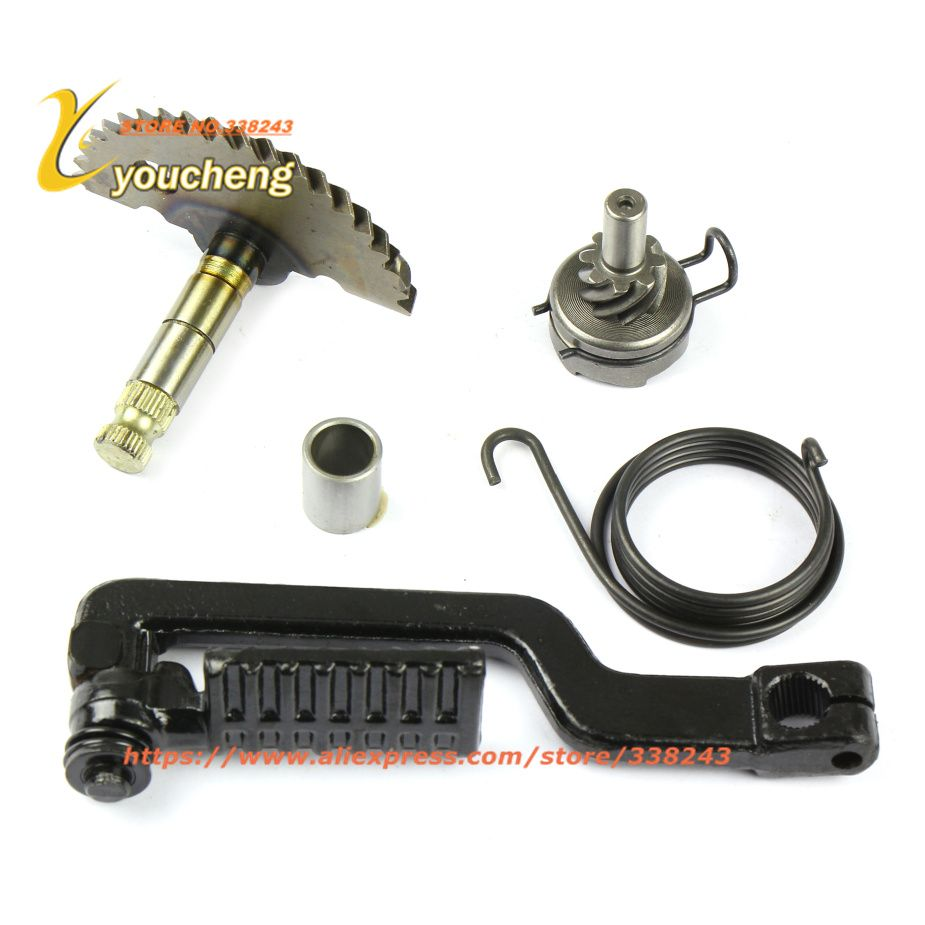 GY6 50 80cc Starting Lever Actuating Scooter Engine Kick Starter Spring Idle Gear Spare Parts 139QMB Moped Wholesale QDTJZ-GY650