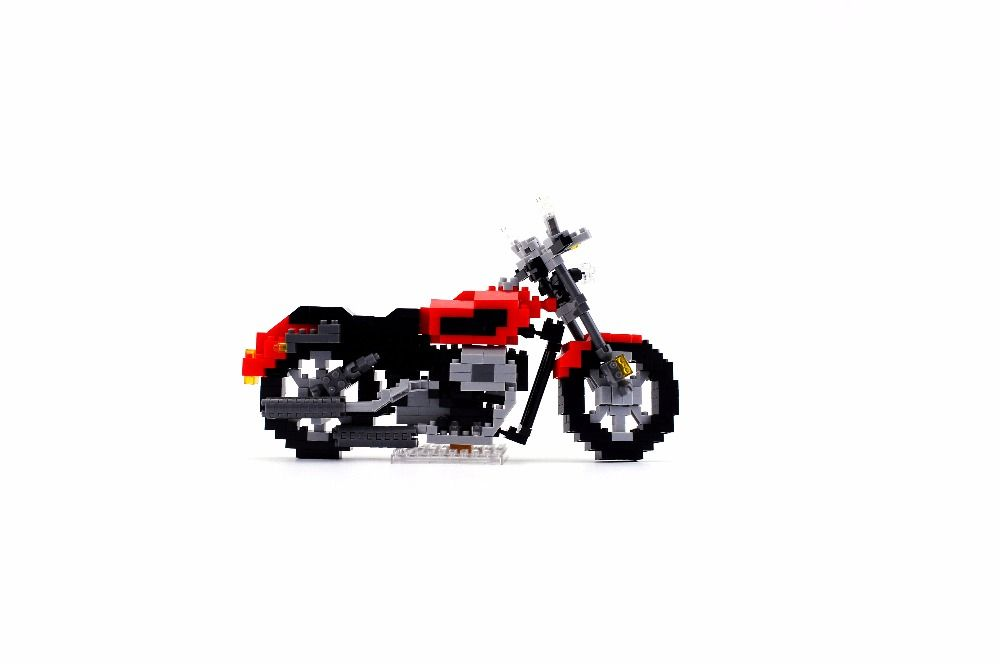 8989 Ev95a Technic Motorbike Motorcycle Block Brick ABS Toy Set Boy Game Gift racing locomotive Exploiture gift 25cm