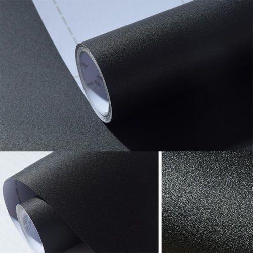 Матовая Черный, серый цвет peel Стикеры самоклеющиеся винил контакт Бумага стены Бумага roll