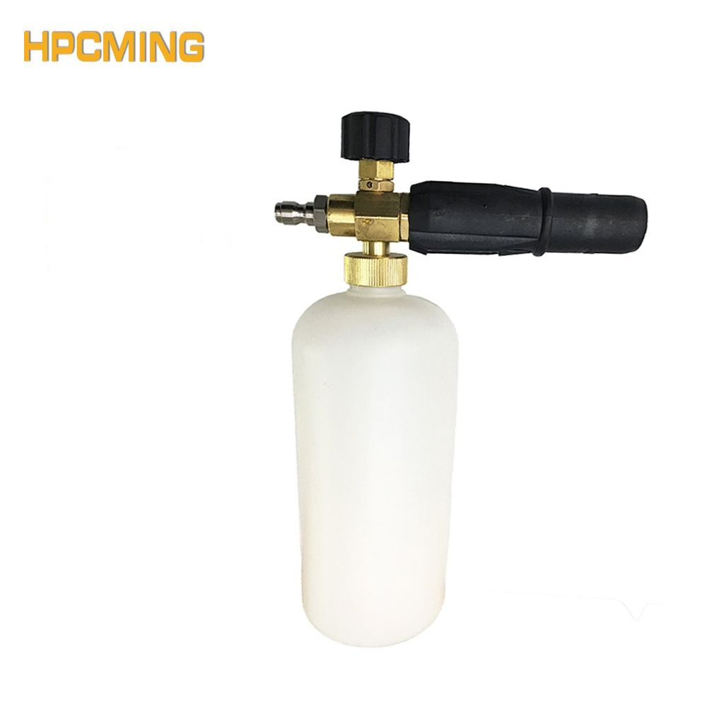 2018 New Arrival Special Offer GS Generator Snow Foam Lance Sprayer Soap Nozzle For Quick Connect (cw039)