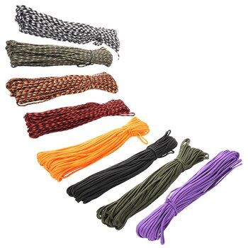3 Meters Dia.4mm 7 stand Cores Paracord for Survival Parachute Cord Lanyard Camping Climbing Camping Rope Hiking Clothesline