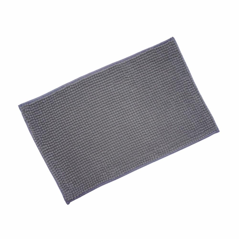 40x60 cm 2016 nouveau tapis de bain en microfibre chenille tapis de bain en Machine