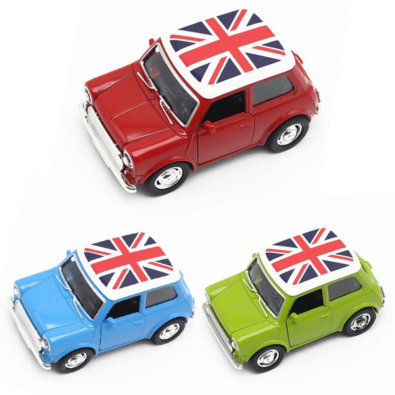 Jouet voitures pour garçons Mini Cooper alliage voiture bébé enfants jouets pour enfants échelle modèles tirer arrière jouets garçon Brinquedos Juguetes 2016 nouveau