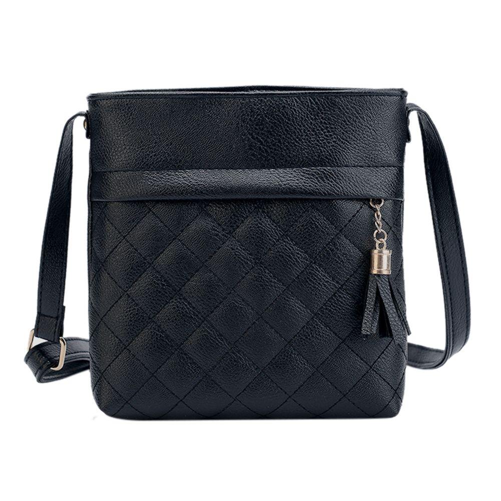Мини кисточкой сумка Курьерские сумки решетки Дамы Crossbody сцепления сумки из мягкой искусственной кожи сумки для Для женщин 2018 Sac основной ...