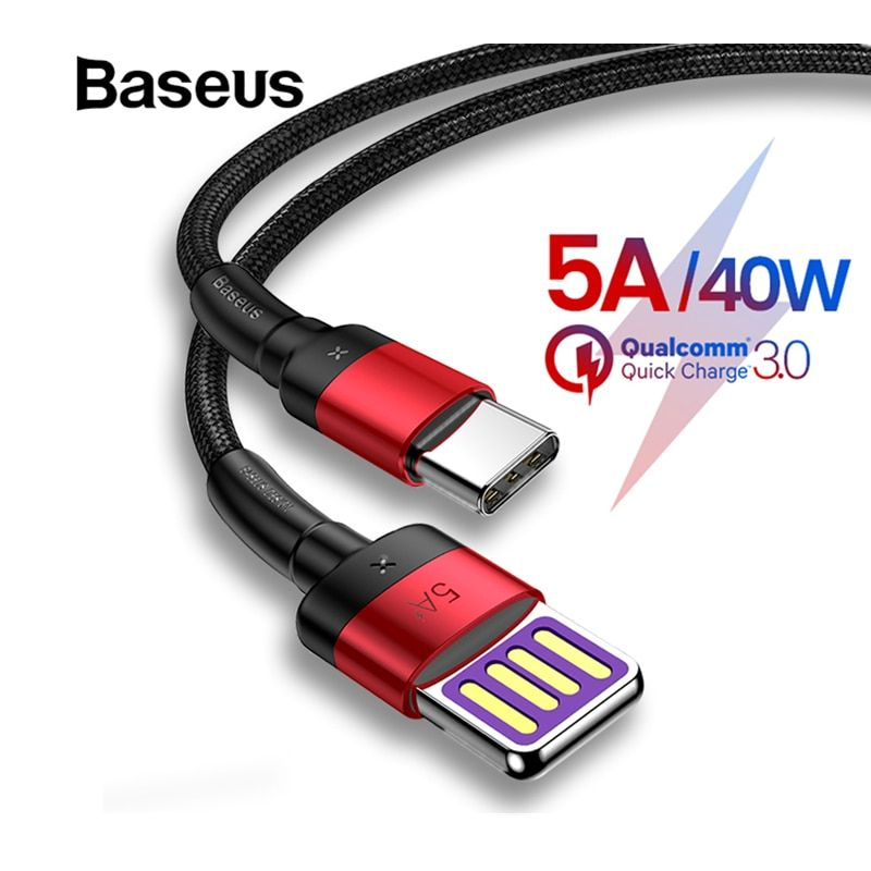 Baseus Upgrade Special Reversible USB Type C Cable for Samsung Galaxy note 9 S9 S8 Plus USB C Fast Charging cabo USB