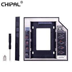 Chipal Universal 2nd HDD Caddy 12.7 Mm SATA III untuk 2.5