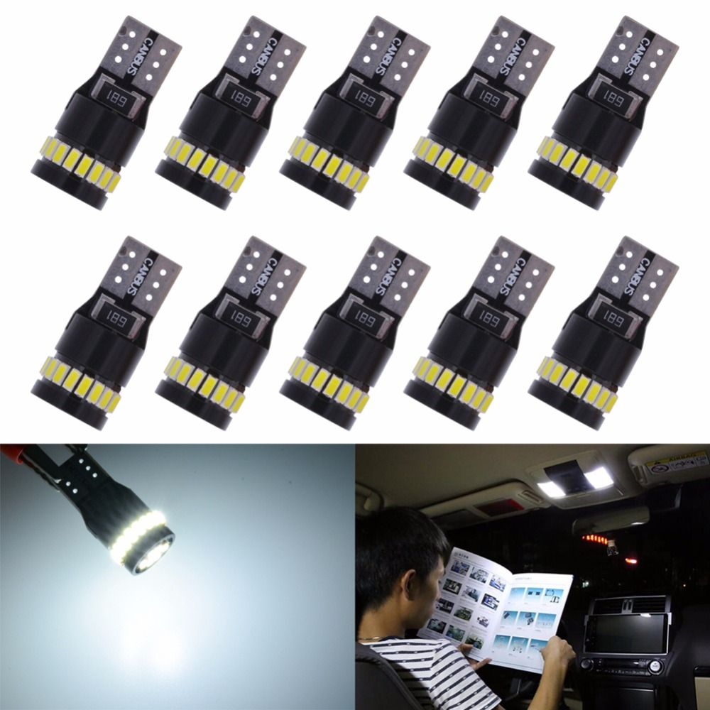New Canbus T10 W5W 168 194 LED Clearance Side Marker Lights For Mercedes Benz W211 W221 W220 W163 W164 W203 C E SLK GLK CLS M GL