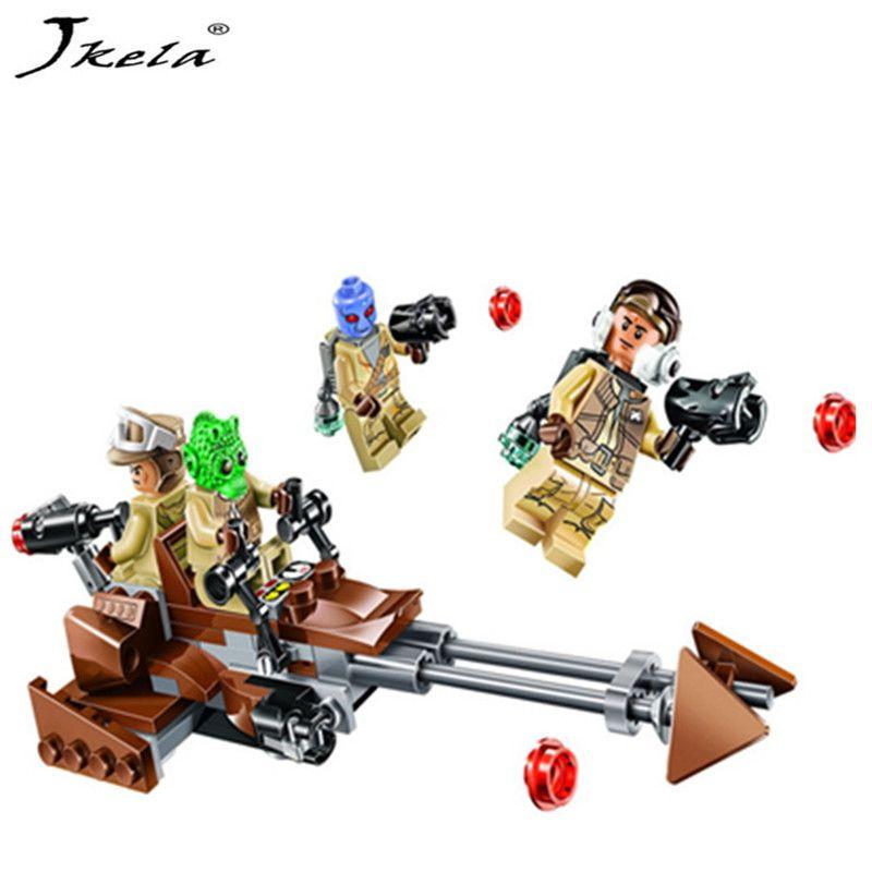 [Nouveau] Star Wars Force Éveille Rebel Alliance Bataille Pack Action Building Blocks Briques jouet Compatible legoingly Starwars