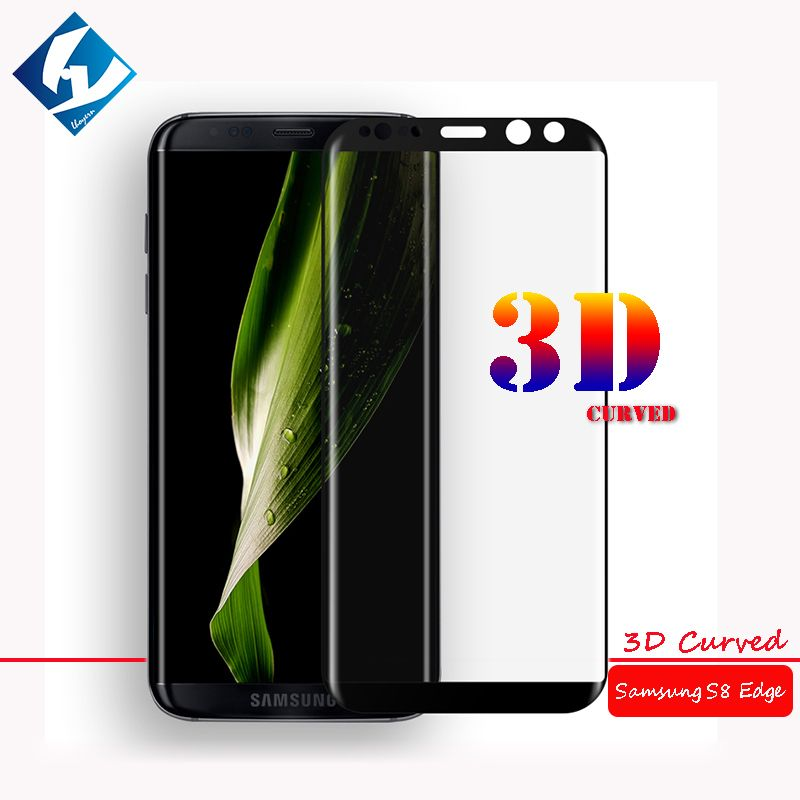 3D Curved For Samsung Galaxy S8 Plus Full coverage Screen Protector Tempered glass Film Protective For SM-G955 G955F G955FD