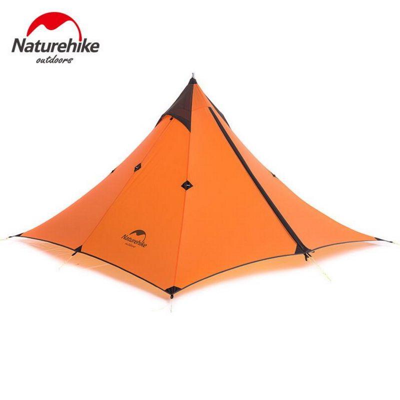 Naturehike Minarett Einzigen Baldachin Zelt Leichte Outdoor Trekking Doppelregendicht Camp Tent
