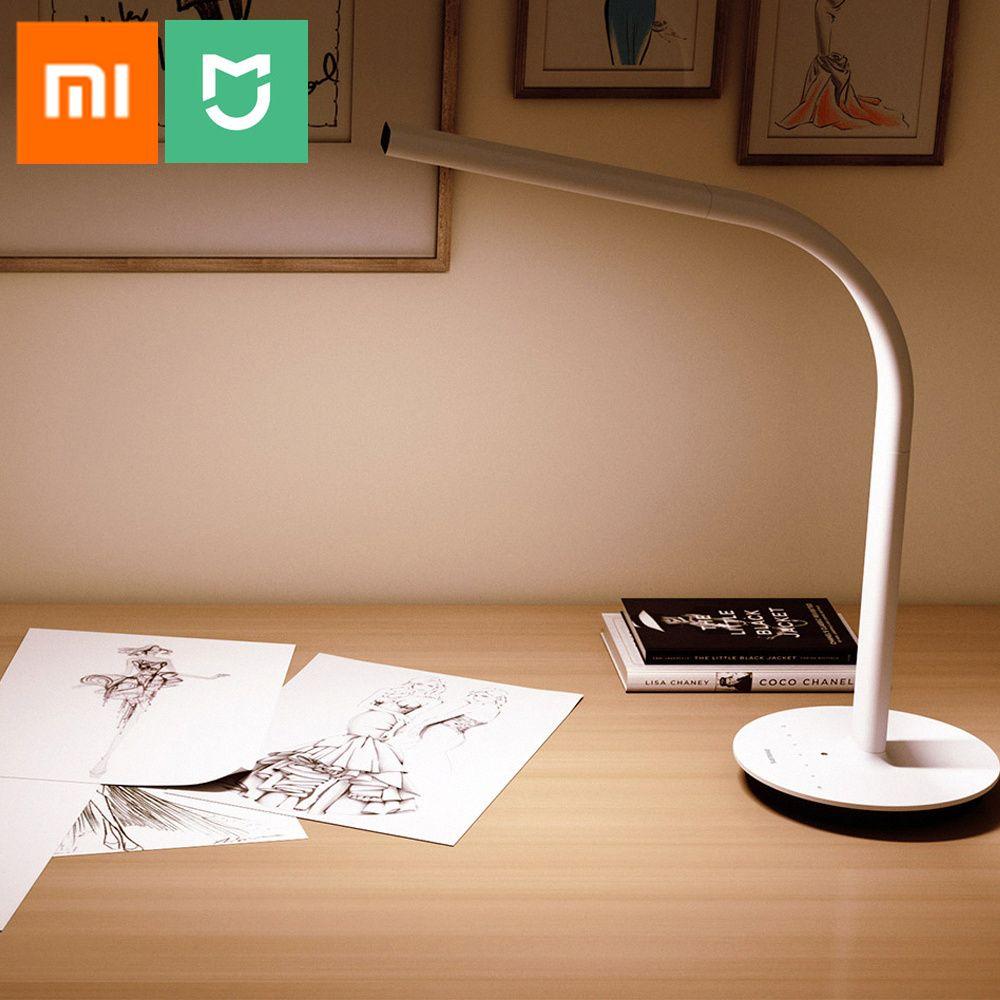 Original Xiaomi Mijia LED Flexible Desk Lamp 2 Dual Light Source Smart Table Lamp Ambient Light Sensor Bedlamp By Mi Home APP