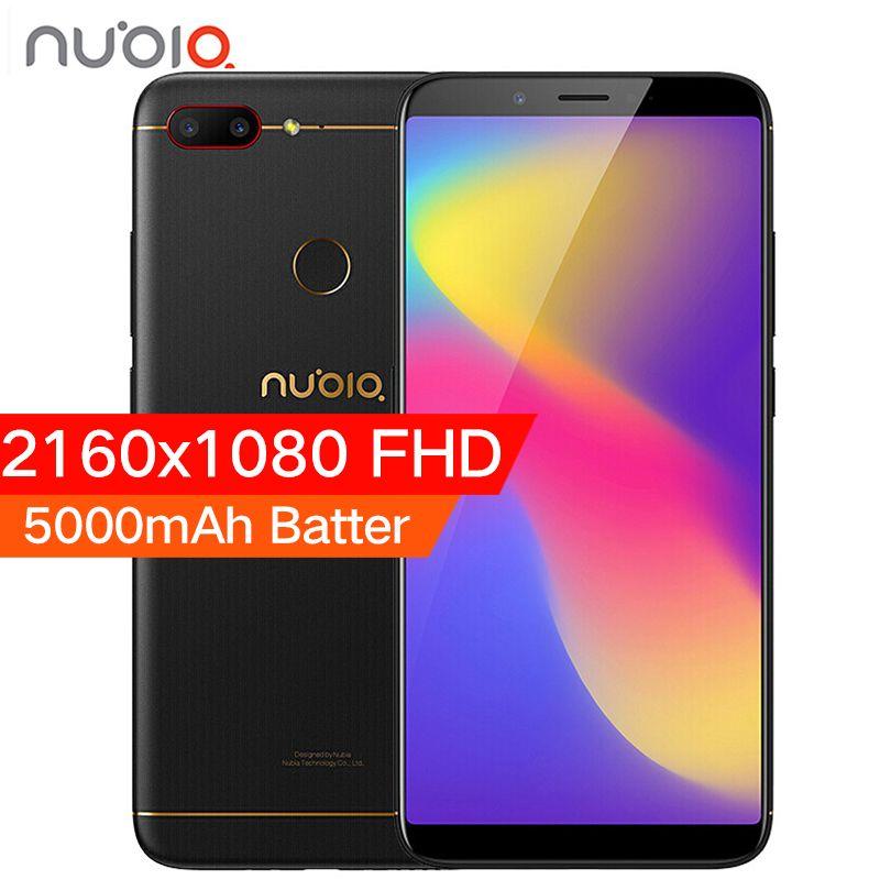 ZTE Nubia N3 4GB RAM 64GB ROM 5000mAh Mobile Phone 6.01inch Snapdragon 625 Octa Core Dual Rear Camera Fingerprint ID Smart Phone