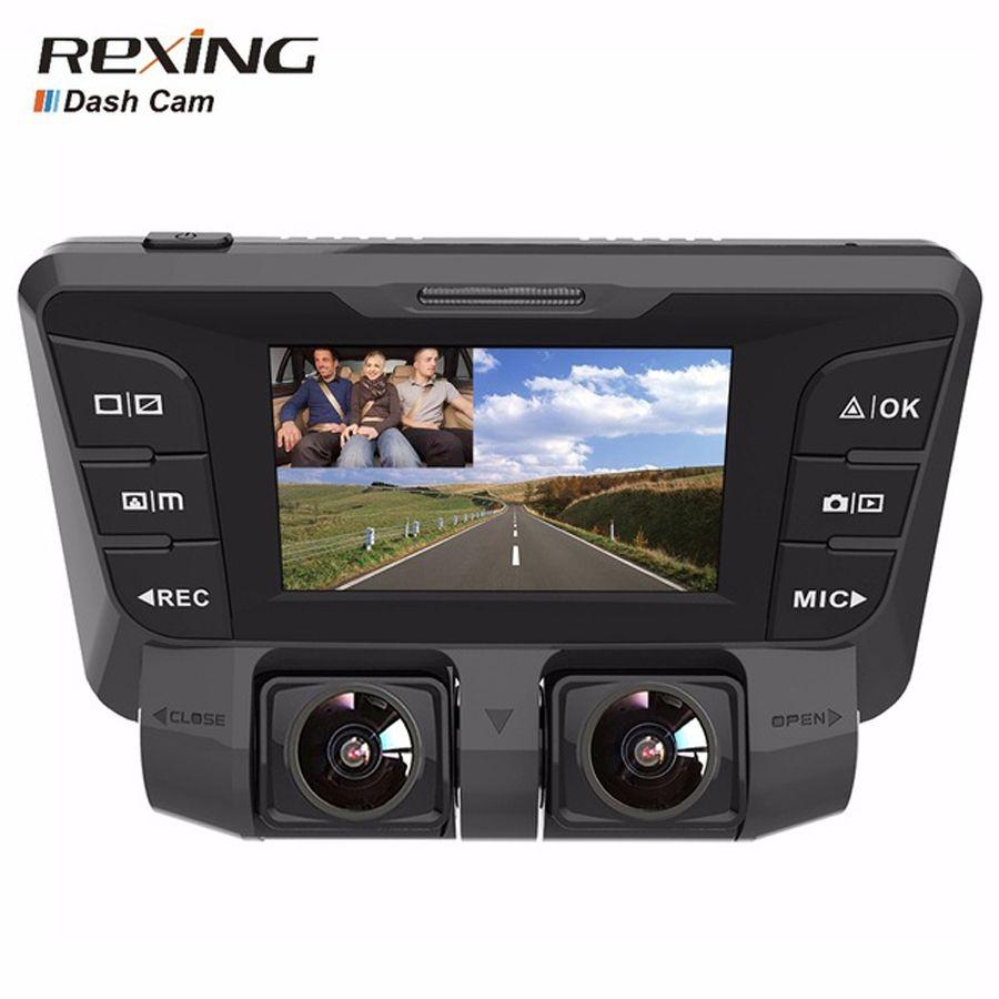 Rexing V2 Car Dvr Camera, Dash Cam, UHD 4K Dual Camera ,Wifi, Night Vision, WDR, Video Recorder
