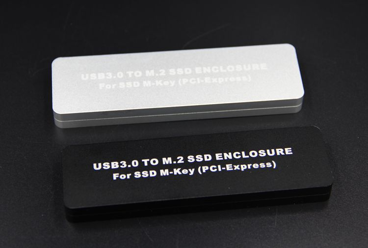 New USB 3.0 to M.2 M-Key PCI-Express SSD ENCLOSURE hard disk box For ssd M-Key ( PCI-Express ) support 2230/2242/2260/2280