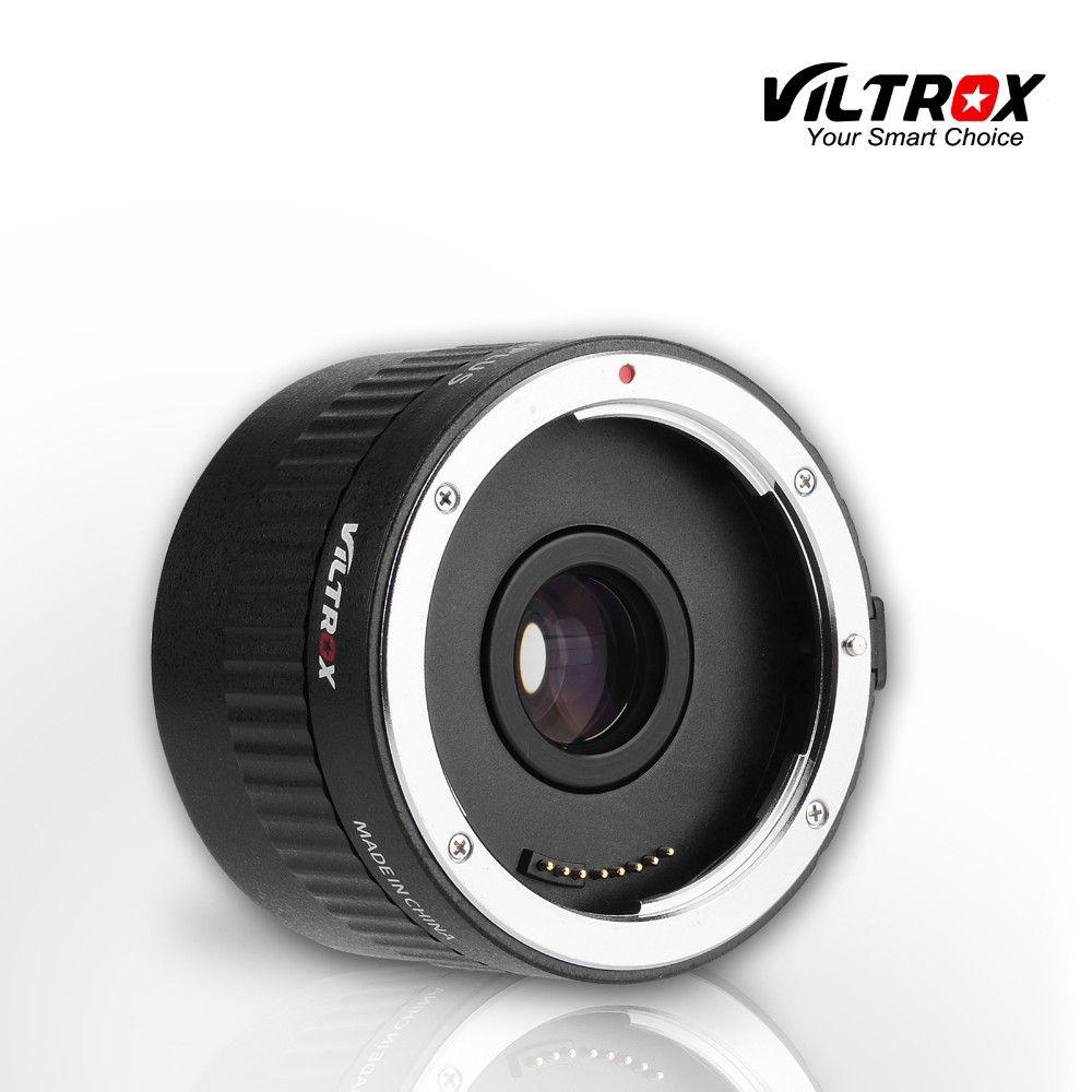 Viltrox C-AF 2X Teleplus Autofocus Téléconvertisseur 2.0X D'extension Convertisseur de Téléobjectif pour Canon EOS & objectif EF 7DII 5D Mark IV 6D