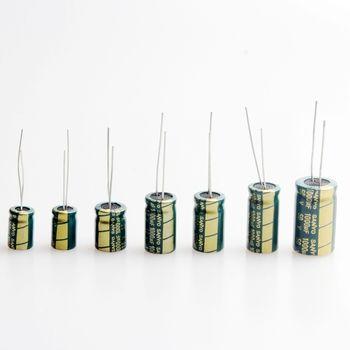 1000 UF 6.3 V 10 V 16 V 25 V 35 V 50 V Haute Fréquence Condensateur Électrolytique (Pack de 10)