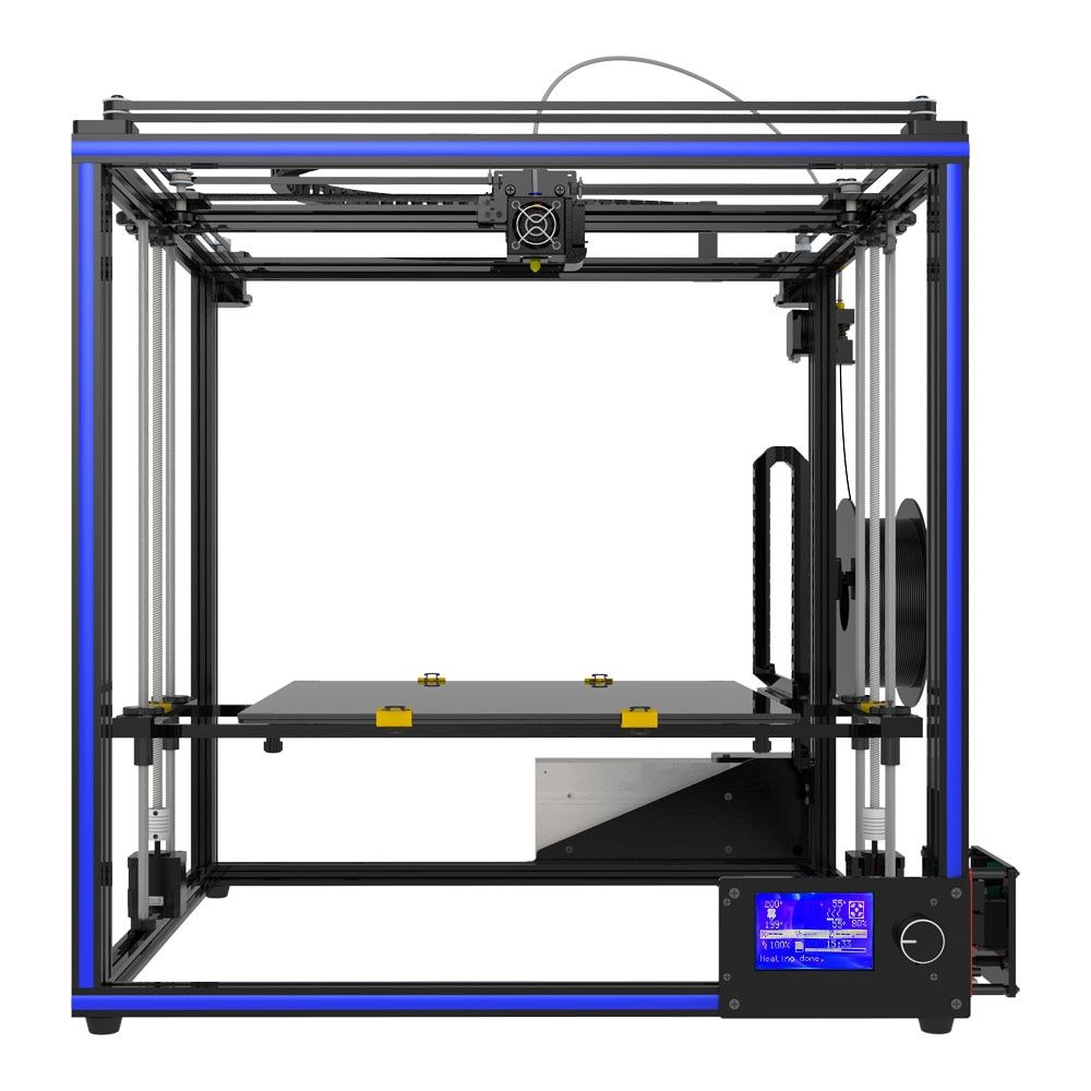 Tronxy 2018 NEW X5S-400 3D printer Big Size hotbed printing 400*400*400mm High quality with PLA filament