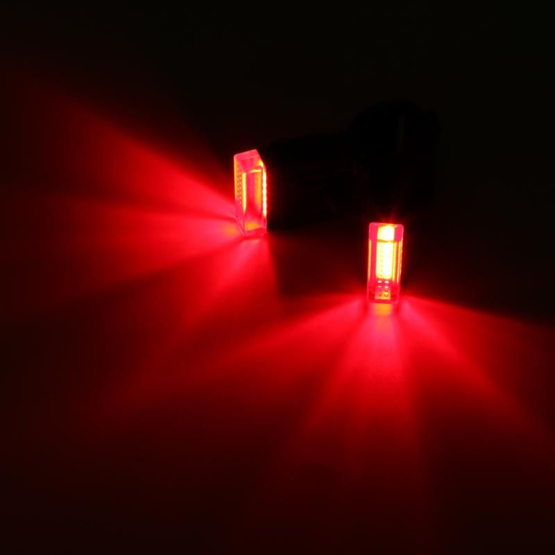 Portable Bike USB RechargeableBicycle Clip Rear Tail Light Quick InstallSafety Warning Light Taillight Lamp Super Bright