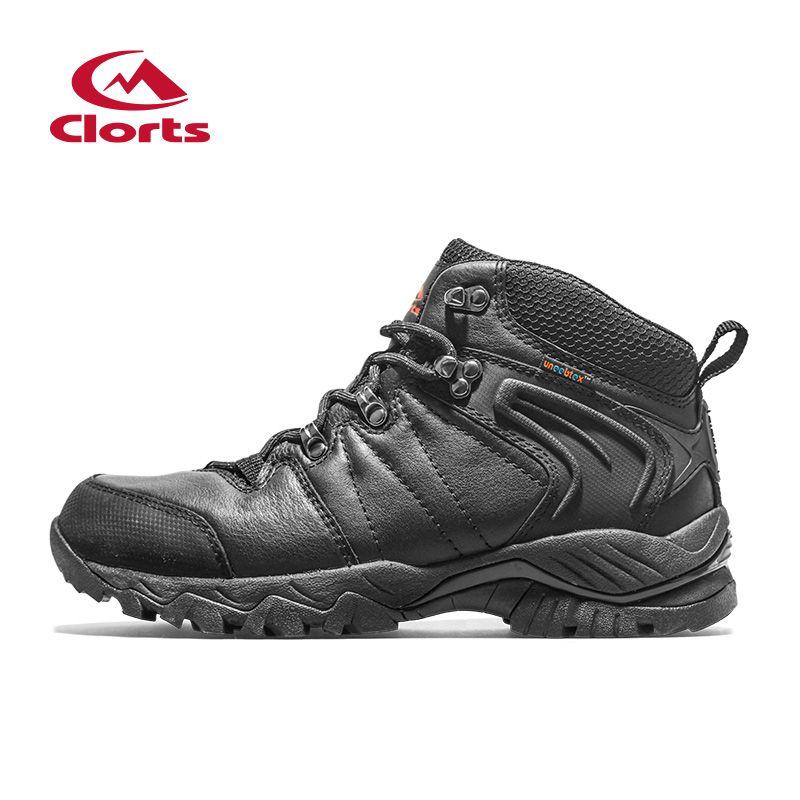 Hiking Shoes Trekking Camping Climbing Outdoor Shoes Waterproof Suede Leather Men Outdoor Boots Winter Sneaker HK822D
