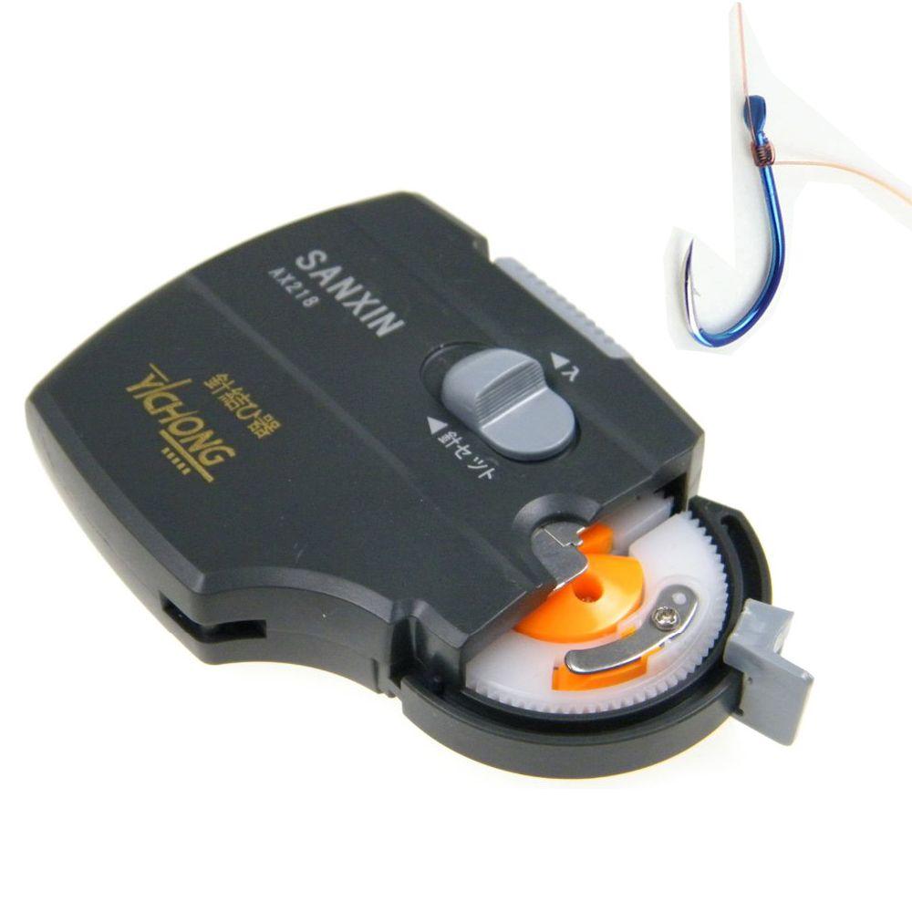 Automatique Électrique De Pêche Crochets Palier Machine Portable En Métal ABS Hameçon Hameçon Noeud Attachant Outil Dispositif