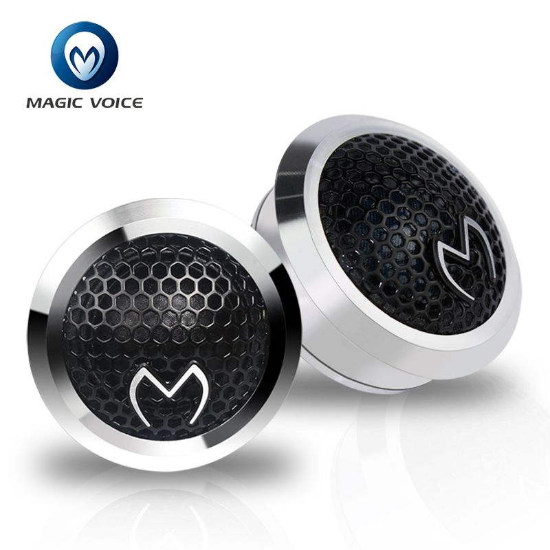 Tweeters Car Audio Paired Silk Soft Dome Hifi Loudspeaker Auto 25mm 4 ohm 150w Music 1 inch Super Tweeter Speakers for Car