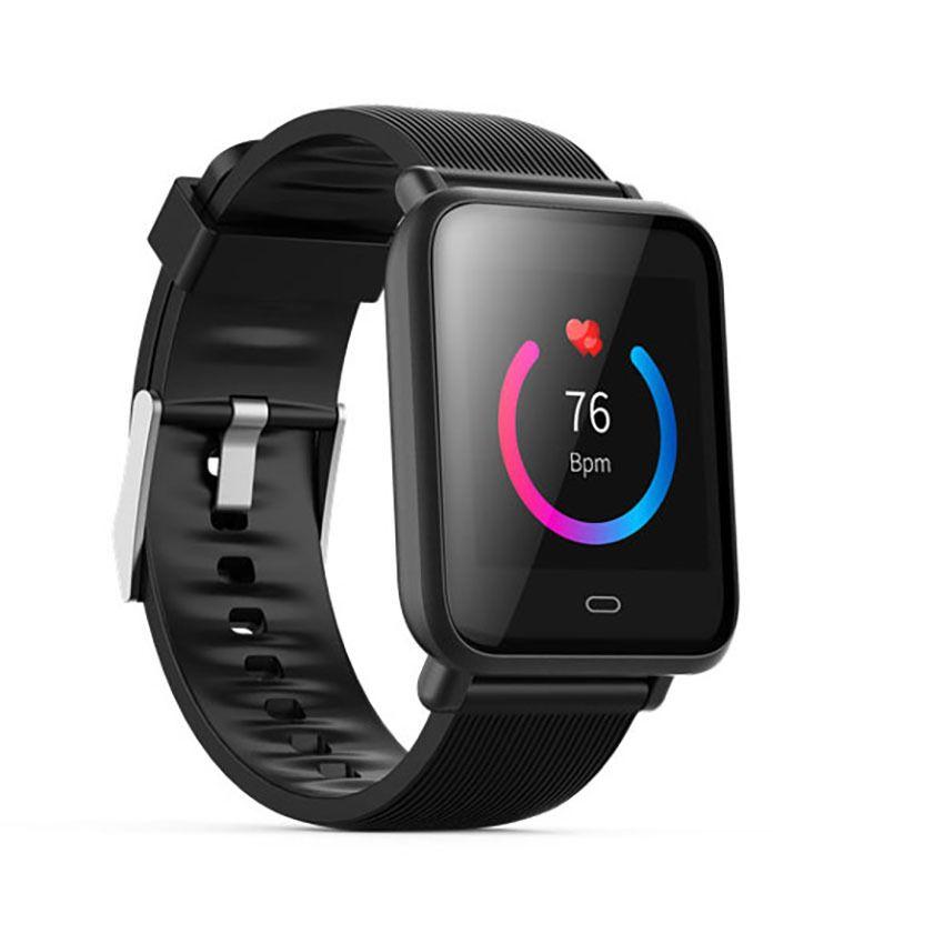 Multi-cadran Q9 Smartwatch IPX67 étanche sport pour Android IOS avec moniteur de fréquence cardiaque fonctions de pression artérielle montre intelligente