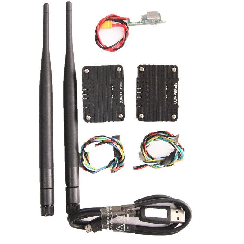 CUAV P9 900MHZ Radio Telemetry Wireless Transmission Module pix for FPV digital transmission station pixhack long distance