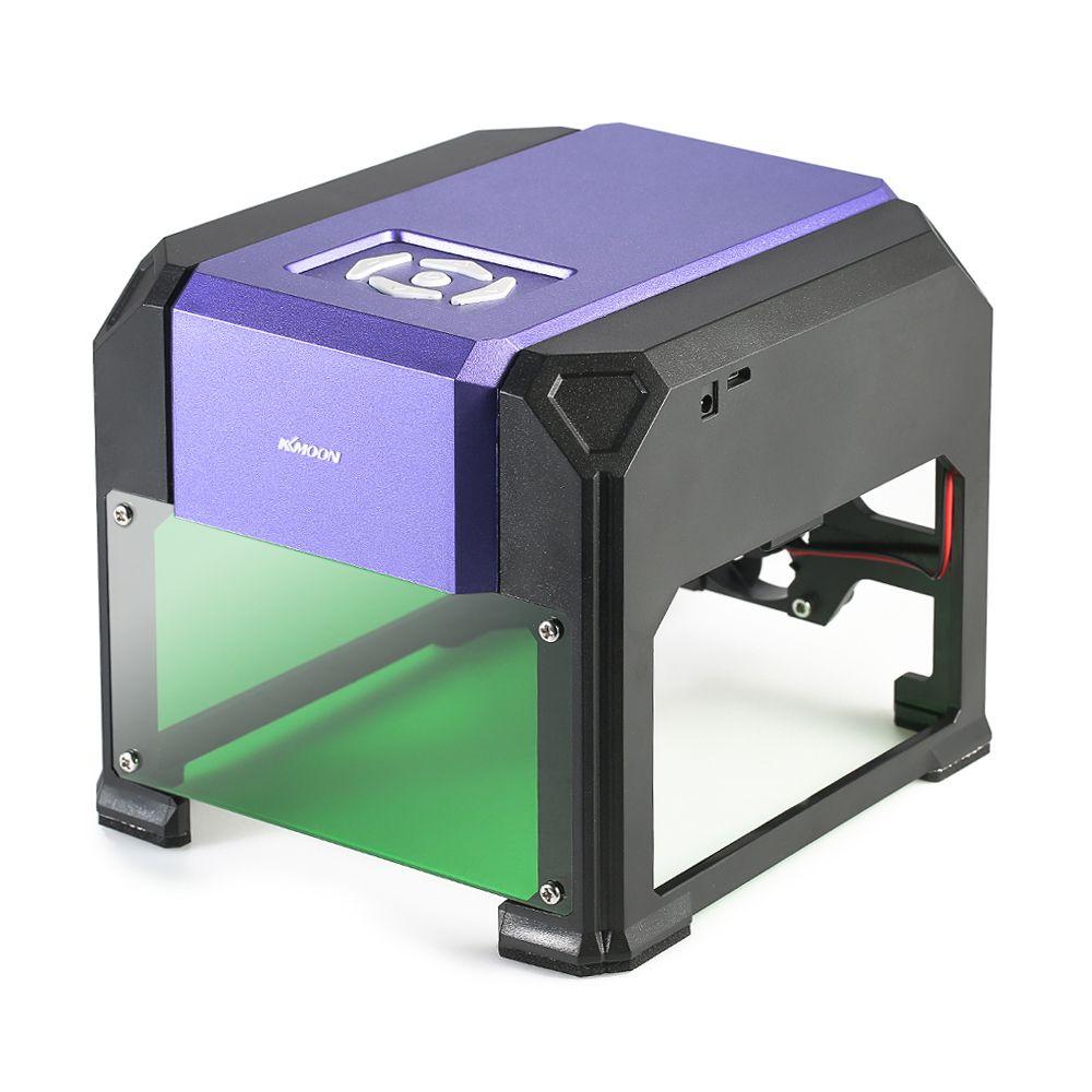 KKmoon AC100-240V 1000mW Laser Engraving Machine laser cutter engraver cnc router Automatic DIY Handicraft Wood Burning Tools