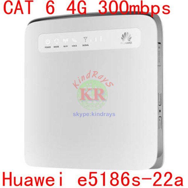 unlocked cat6 300mbps Huawei e5186 E5186s-22a 4g 3g router 4g wifi dongle Mobile hotspot 4g cpe car router pk b593 e5176 e5172