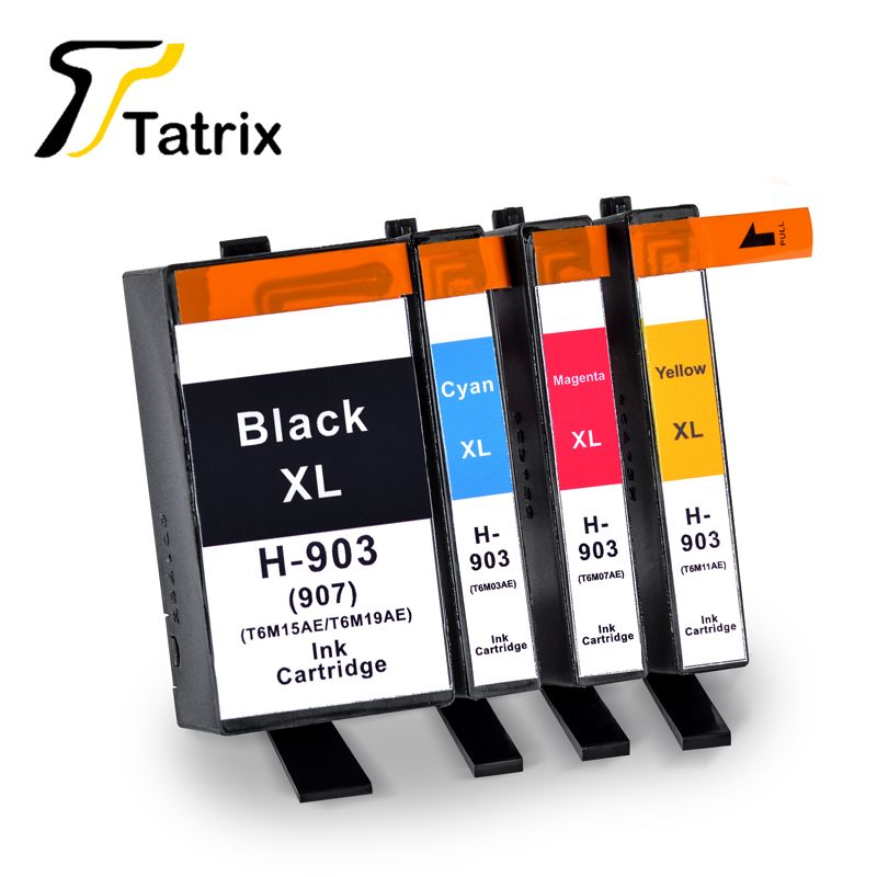 Tatrix Pour HP 903XL Cartouche D'encre Pour HP Officejet Pro 6960 6961 6963 6964 6965 6966 6968 6970 6971 6974 6975 6976 6978 6979