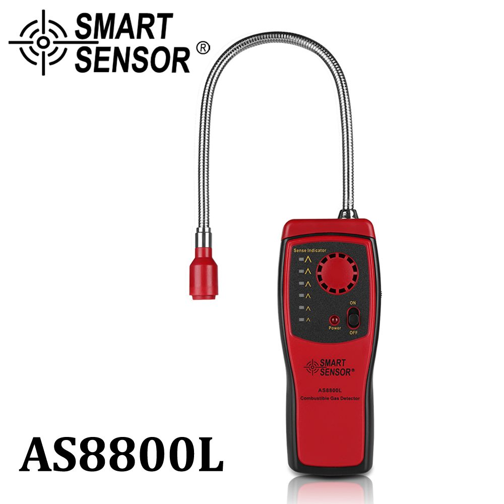 Gas <font><b>Analyzer</b></font> Combustible gas detector port flammable natural gas Leak Detector Location Determine meter Tester Sound Light Alarm